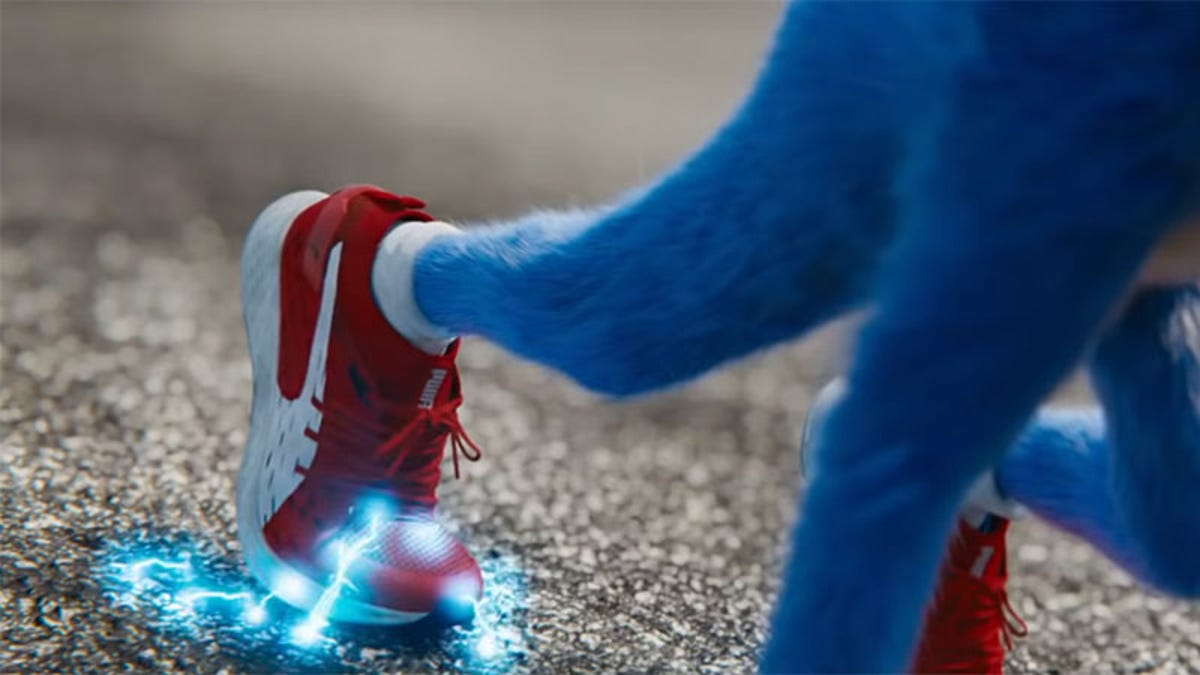 Huh, They Even Redesigned Sonic's Sneakers