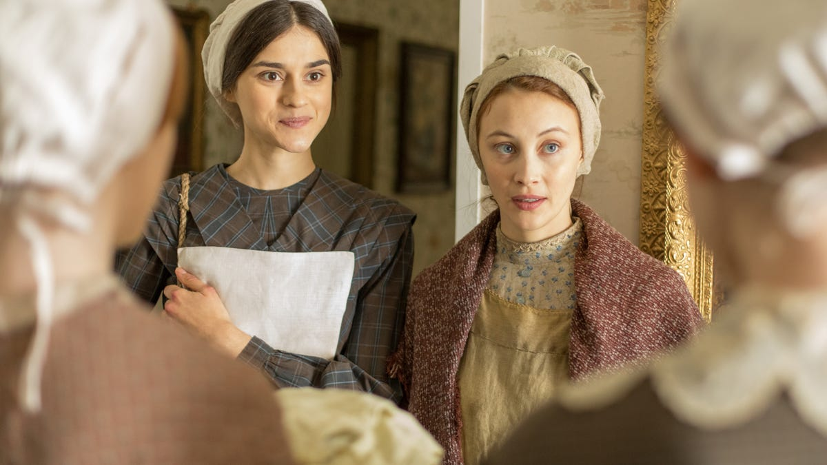 Alias Grace is already more than its murder mystery