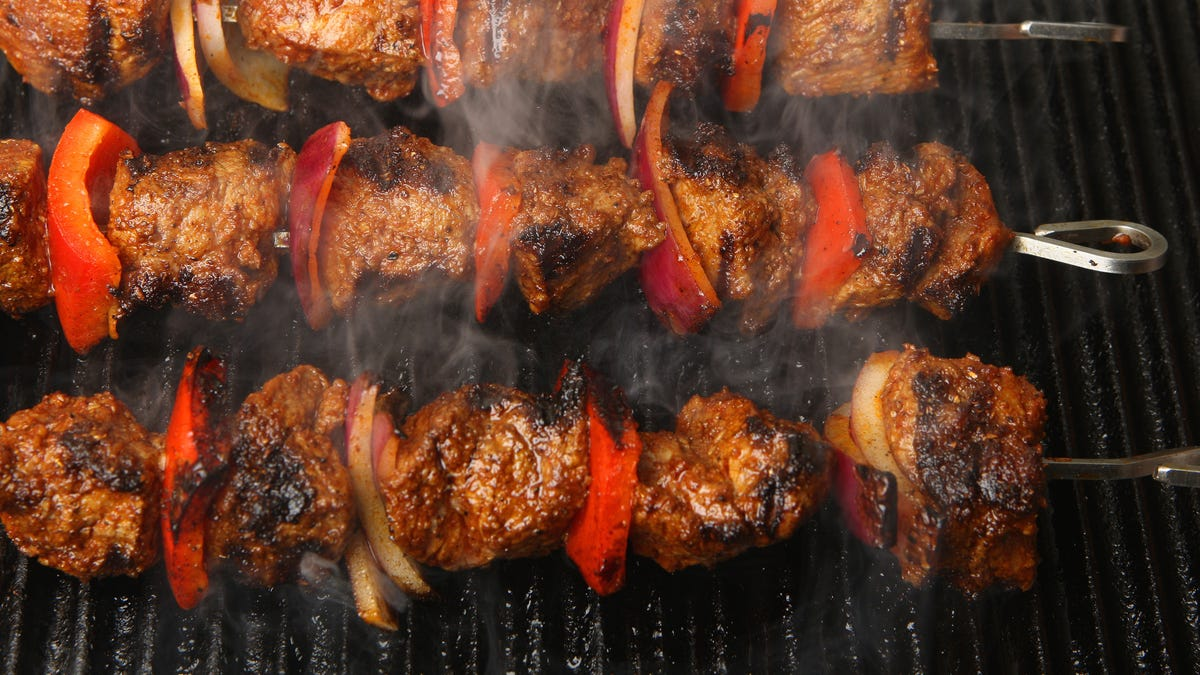 Make Your Kebabs With Stew Meat