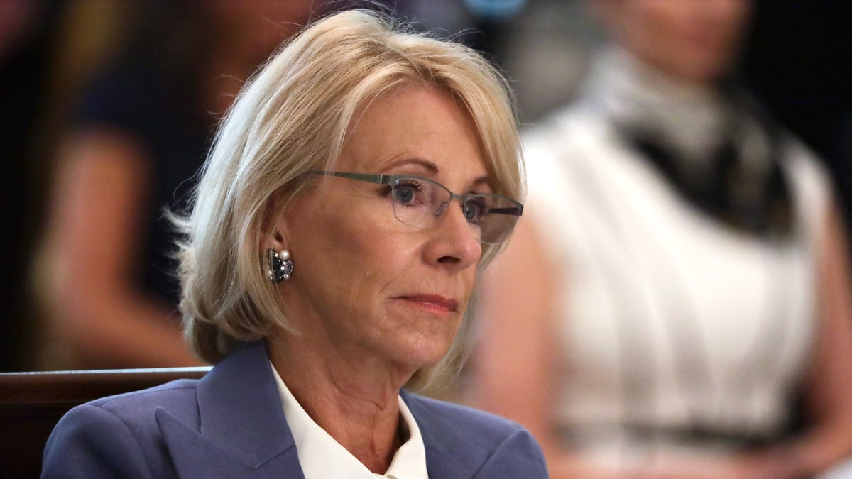 Betsy DeVos Latest Trump Minion to Pretend She Has Principles