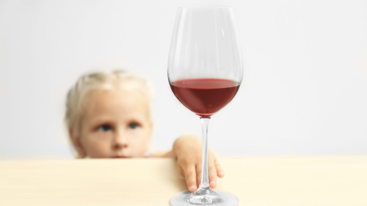 Do You Let Your Kids Try Your Alcoholic Drink?