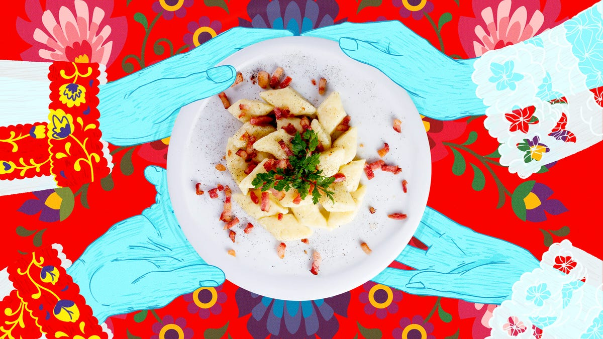 Polish potato dumplings are perfectly imperfect comfort food