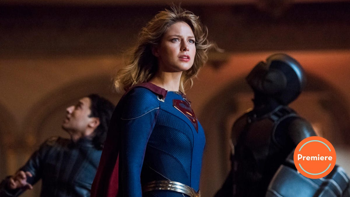 Supergirl returns with a brand new outfit, same sunny outlook