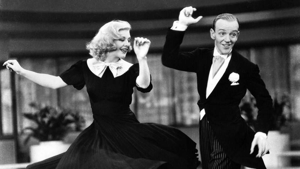 Elegance Meets Feistiness In The Astaire Rogers Musicals