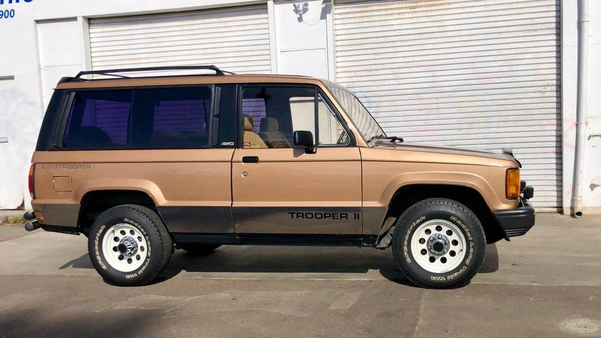 At $11,500, Will This Rare 1986 Isuzu Trooper II Have You Trooping To Buy It?