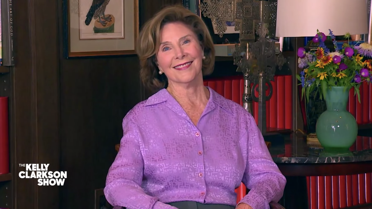 Laura Bush Isn't Convinced That the White House, An Obviously Haunted Place, Is Haunted