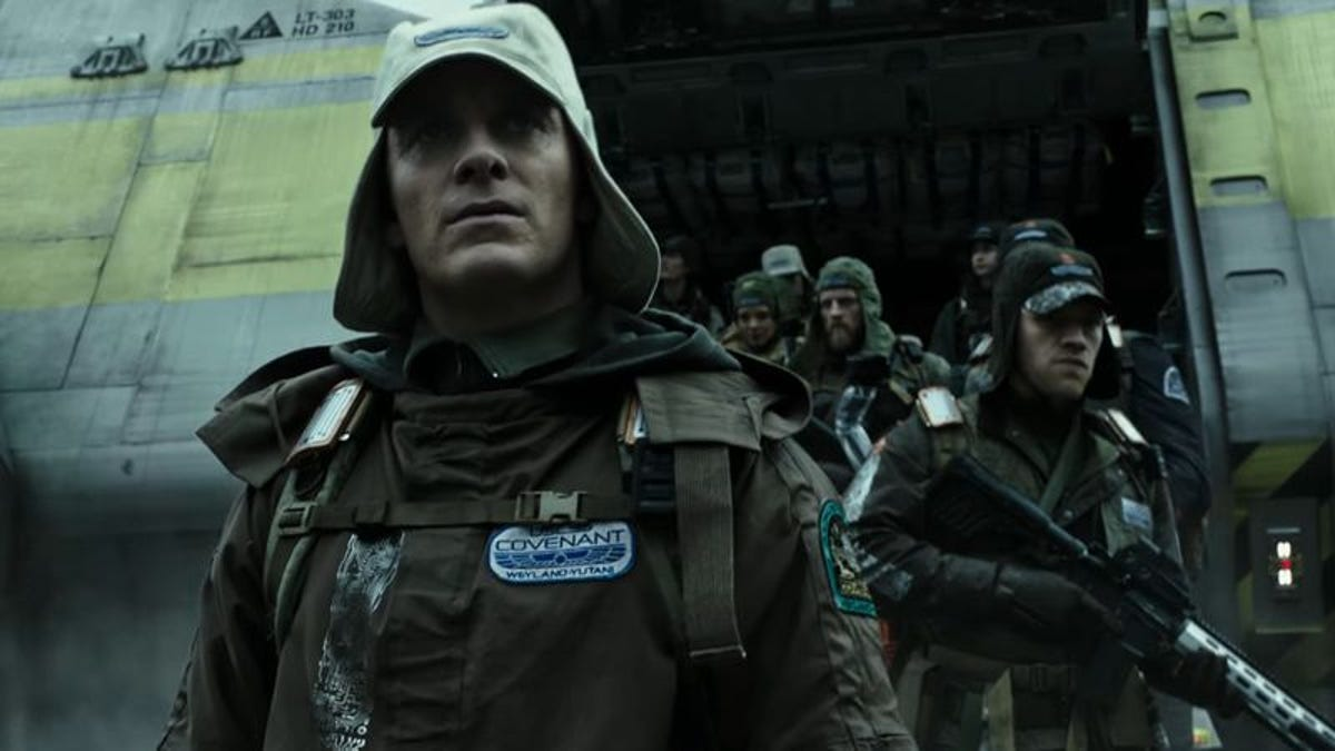 Things are looking apocalyptic in these spoilery new Alien: Covenant photos