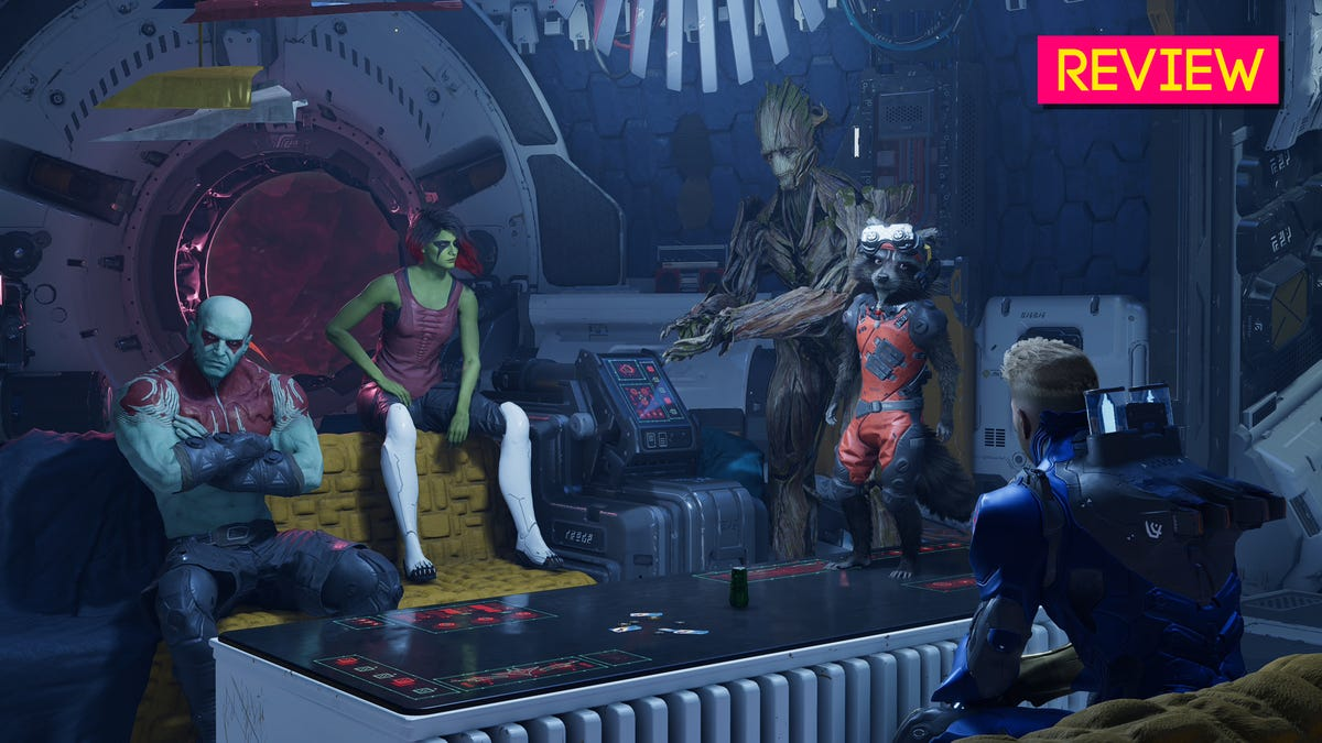 Marvel's Guardians Of The Galaxy: The Kotaku Review