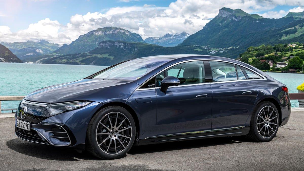 Der Mercedes EQS wird wahrscheinlich bei weit über 100.000 Dollar beginnen