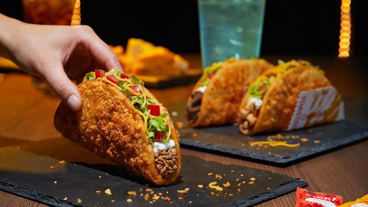 Taco Bell's bean experimenting with its Toasted Cheddar Chalupa