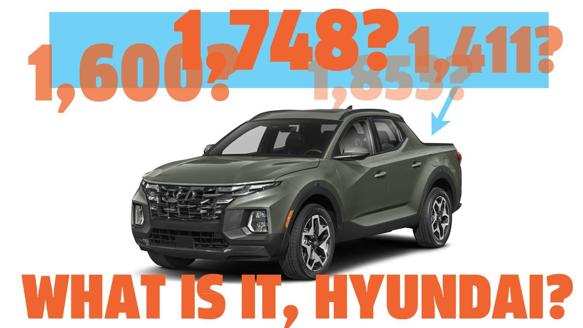 Wie groß ist die Nutzlast des Hyundai Santa Cruz 2022 wirklich?