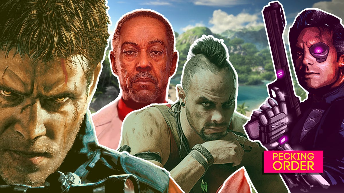 Every Far Cry Game, Ranked From Worst To Best