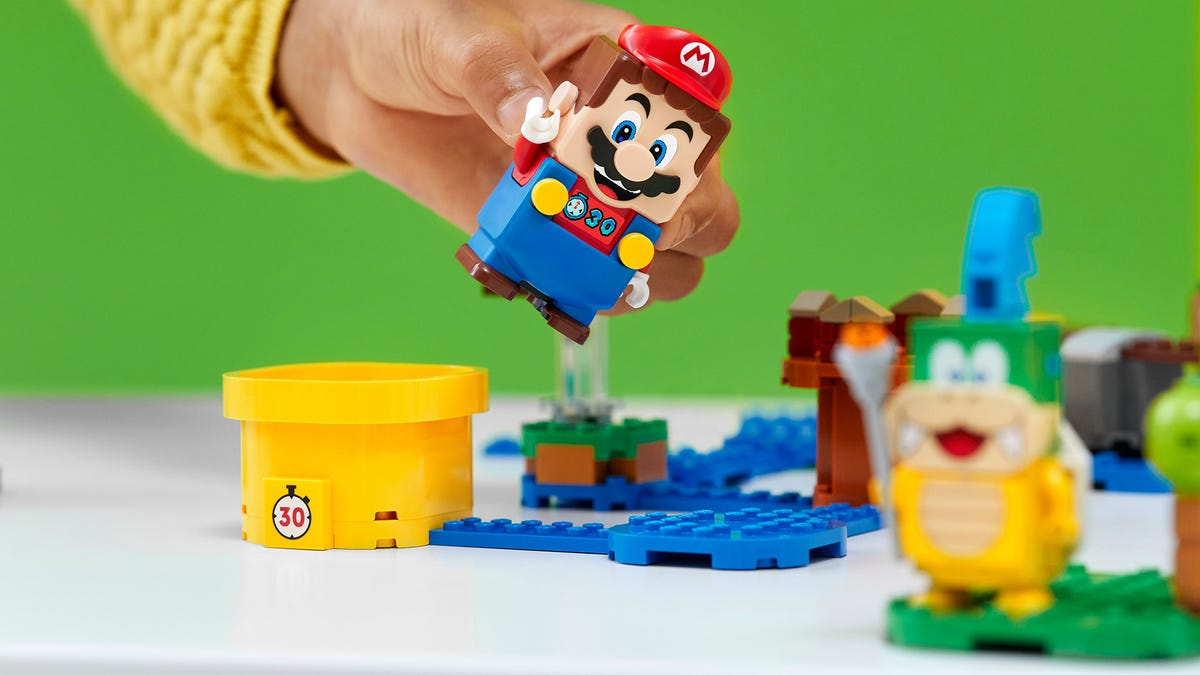 Lego Super Mario Kicks Off 2021 With A Bunch Of New Sets