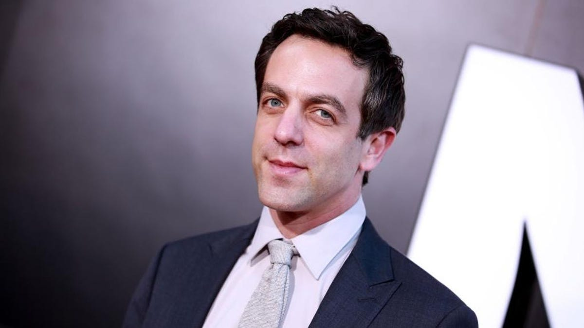 B.J. Novak's public domain headshot is being used to sell ponchos, cologne, face paint, and more