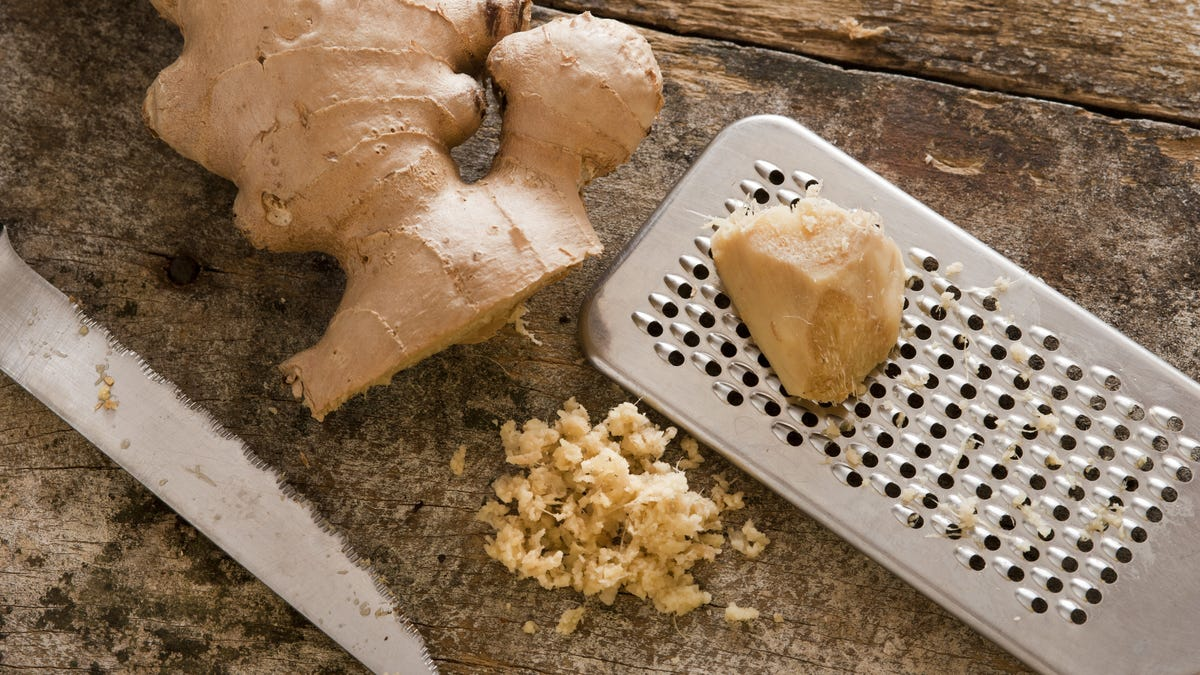 You Don't Have to Peel Ginger
