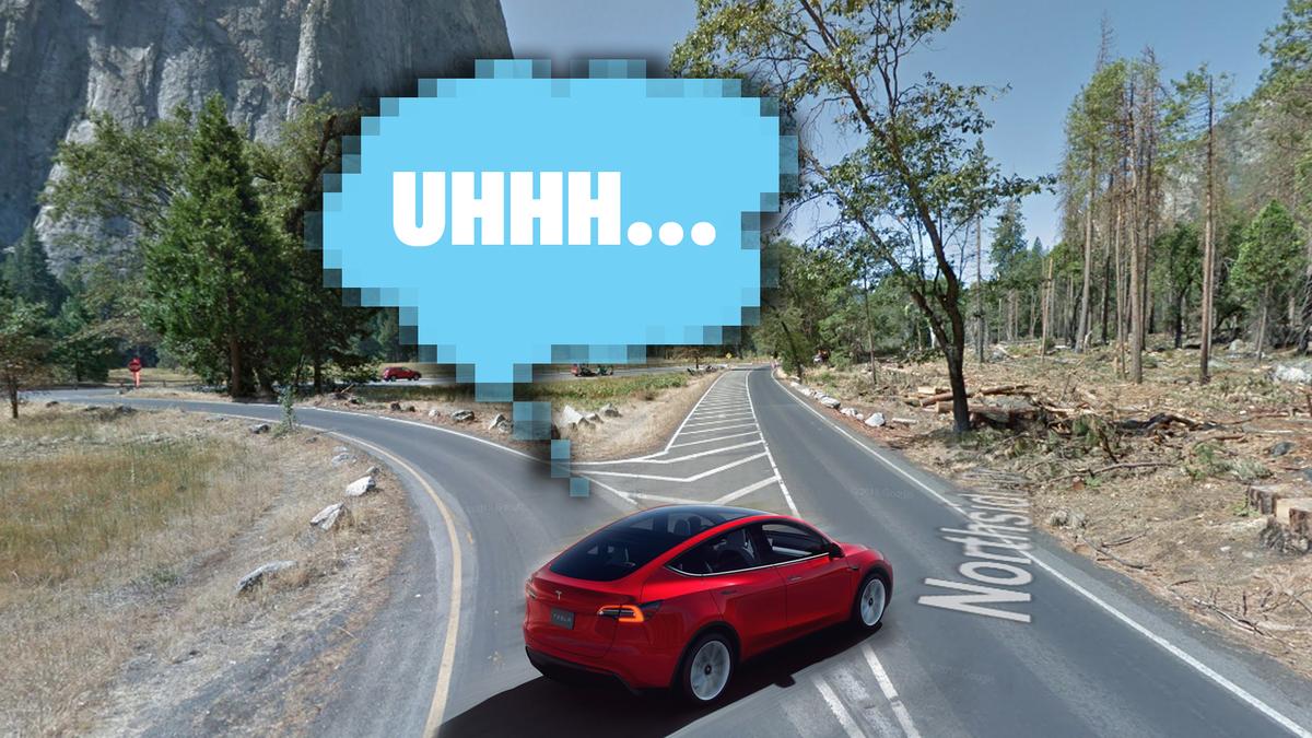 Eine Straßengabelung in Yosemite scheint mehrere Tesla Autopilot Wracks verursacht zu haben