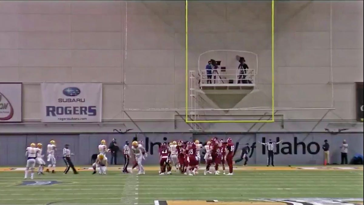 Idaho wins game with help from its farkakt stadium - Deadspin