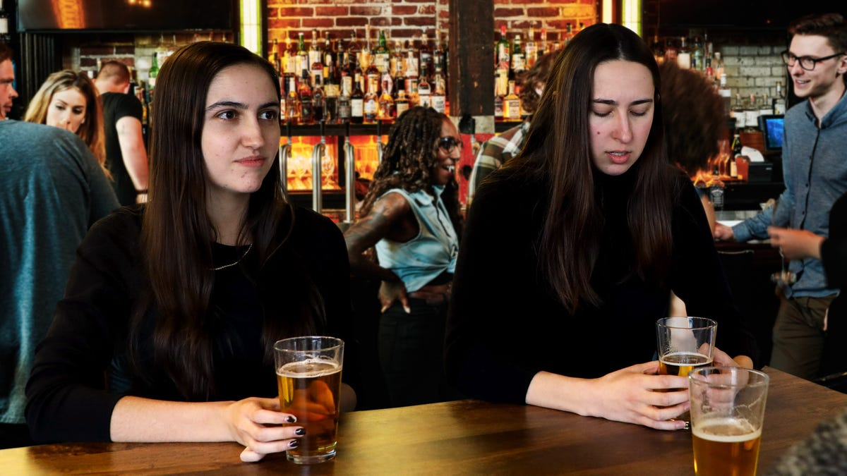 Acquaintances At Happy Hour Break Into Cold Sweat As Mutual Friend Announces She Going To Bathroom - the onion