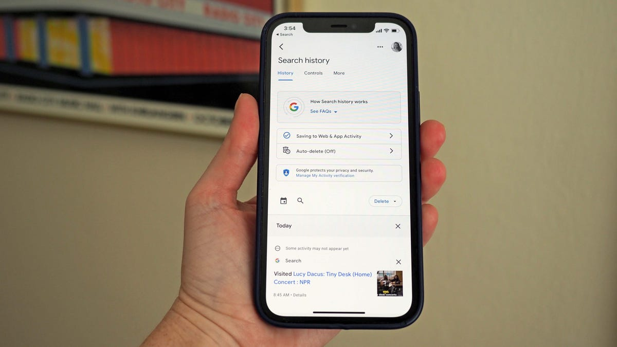 Google Lets You Delete the Last 15 Minutes of Search History