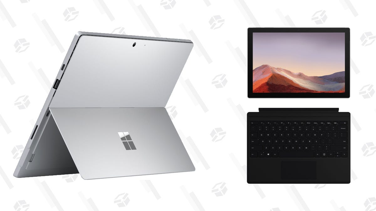 Microsoft's Surface Pro 7 Welds Tablet and Laptop Powers, Now Only $600
