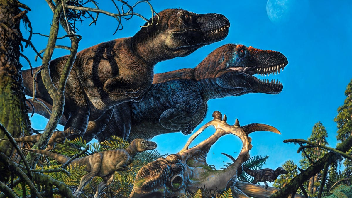 Paleontologists Find Evidence of Dinosaurs Nesting Near the North Pole