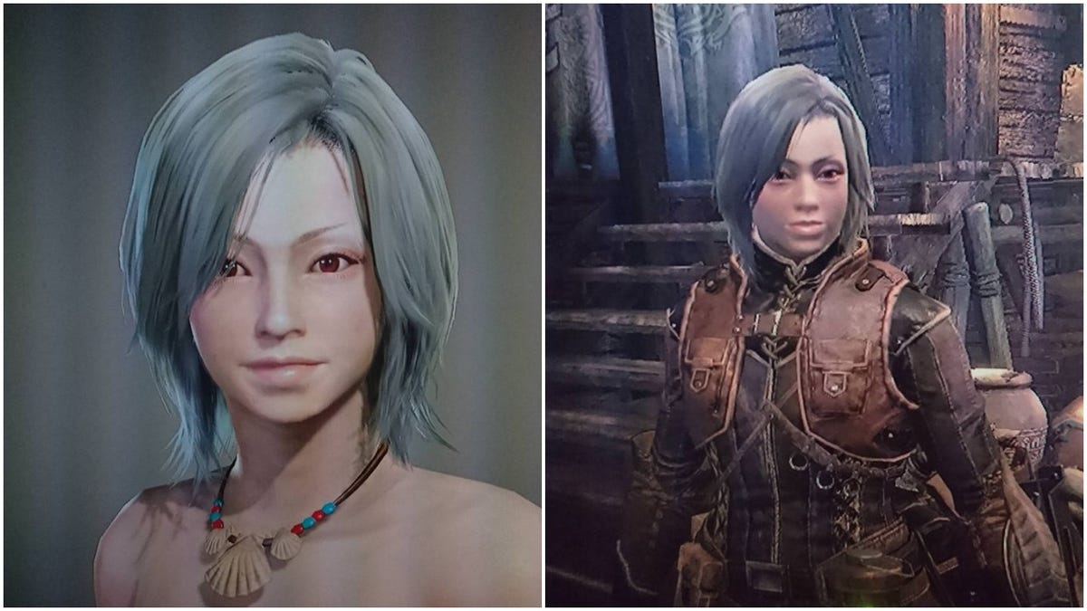 When Your Monster Hunter World Character Looks Different In Game