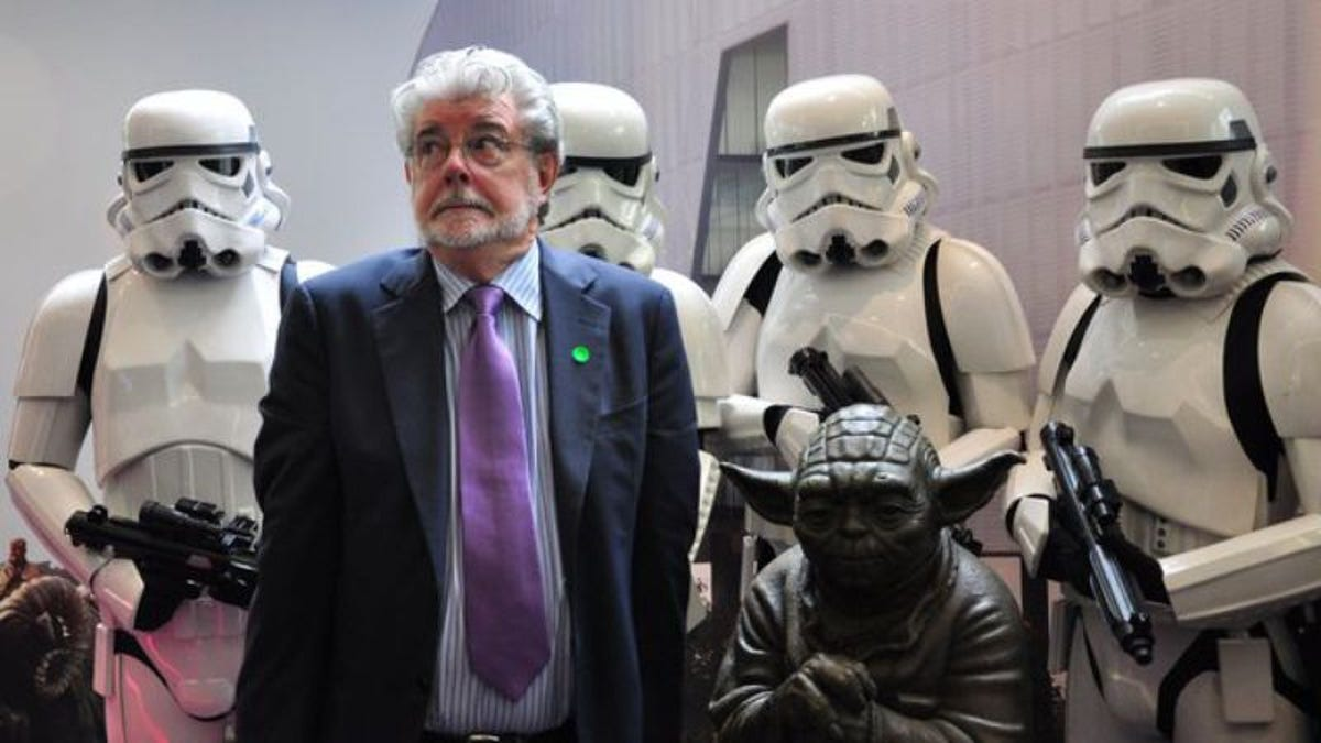 """George Lucas """"really liked"""" The Force Awakens, so now we have nothing to worry about"""