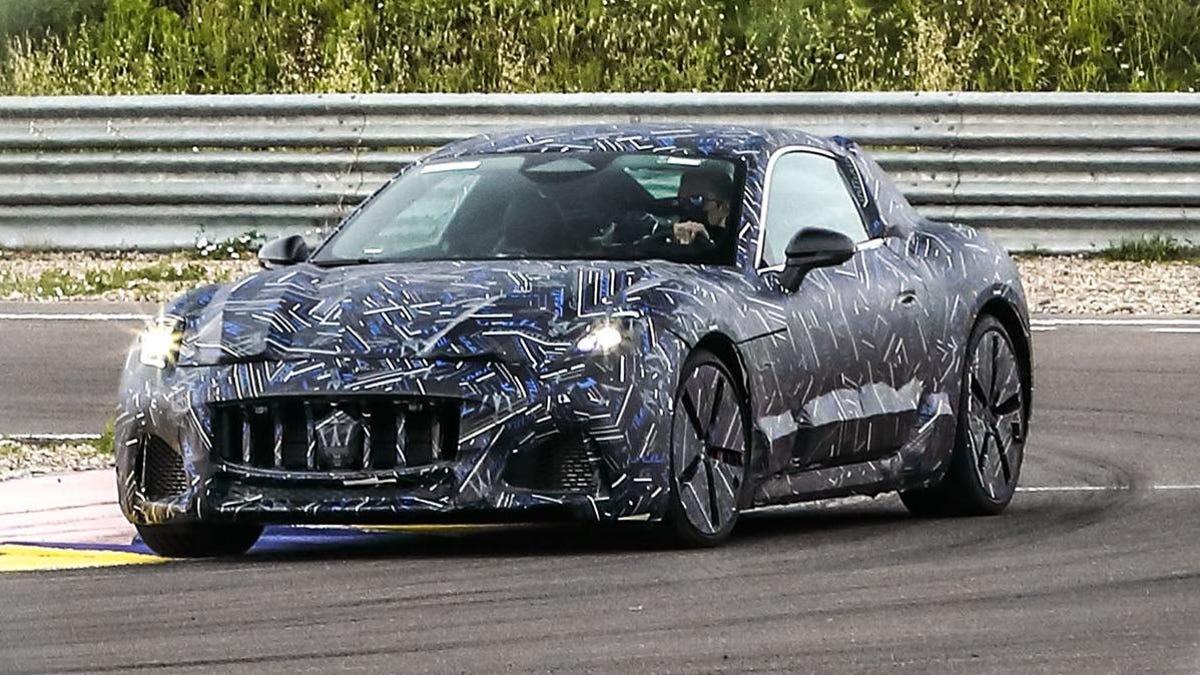 The New Maserati GranTurismo Is All-Electric And Looking Pretty Slick