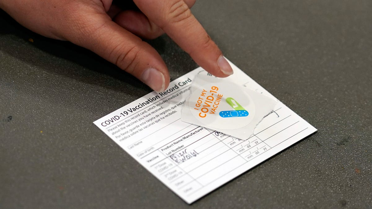 Don't Laminate Your Covid-19 Vaccine Card