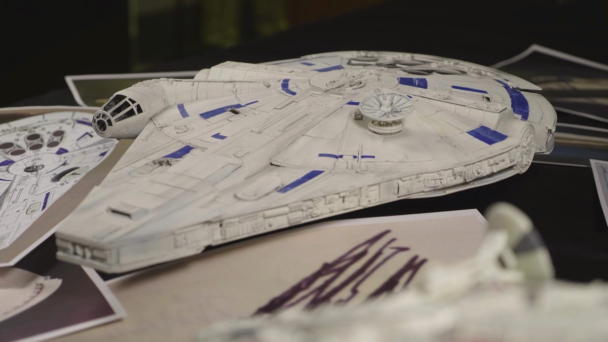 Watch Lando's Falcon Become Han's in a New Video From Industrial Light & Magic