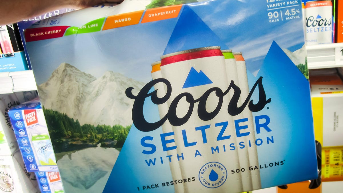 Get a Free 12-Pack of Coors Hard Seltzer Because Why Not, It's Free