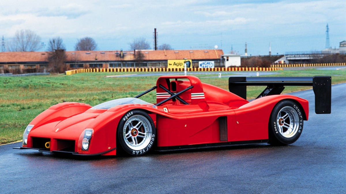 Let's Remember The Ferrari 333SP