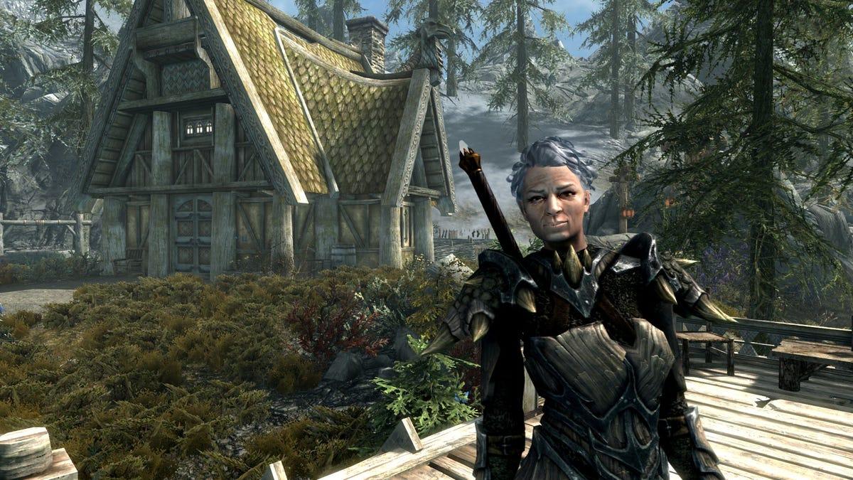 Shirley The Skyrim Grandma Has Her Own Fully Voiced Mod