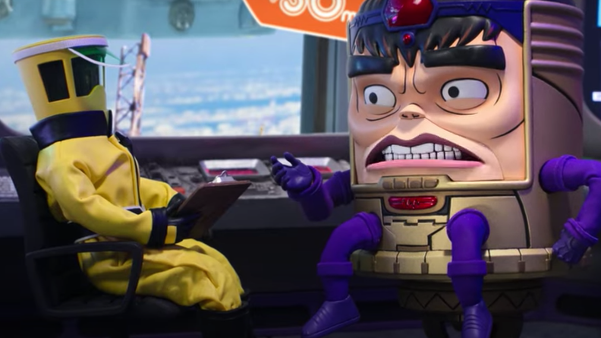 First trailer for Hulu's M.O.D.O.K. starring Patton Oswalt