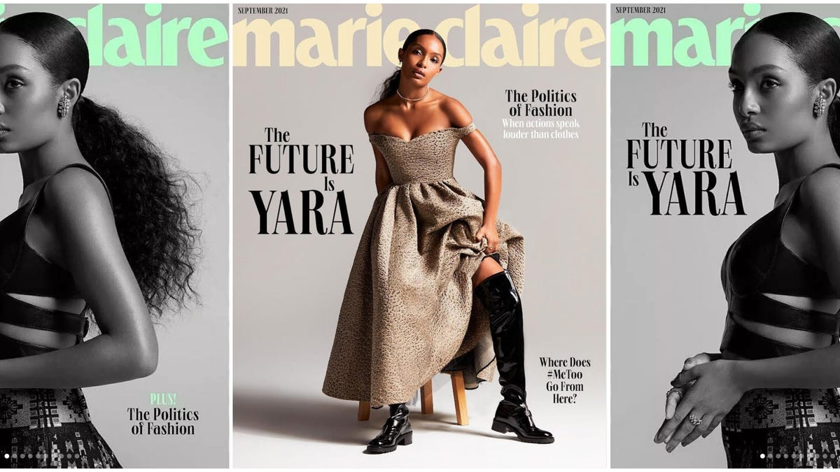 'You Have to Take Care of Yourself': Yara Shahidi Talks Mental Health and Making Change as Marie Claire's October Cover Star
