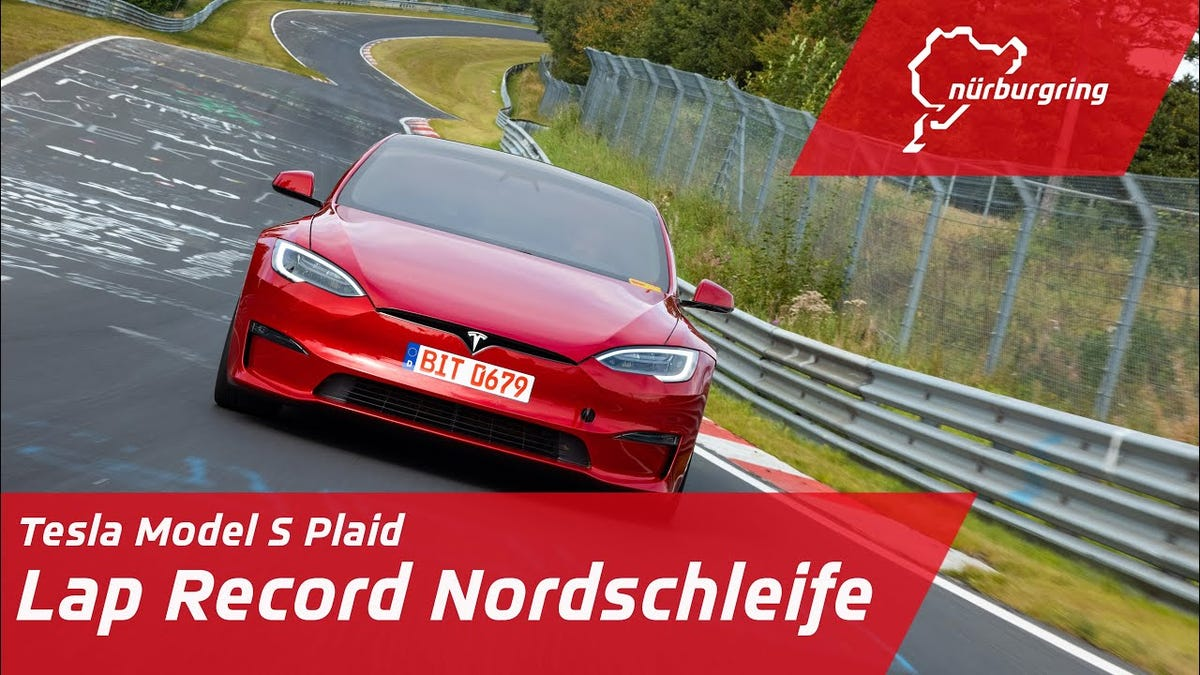 Irgendetwas an Teslas Model S Plaid Nürburgring Run stimmt nicht€