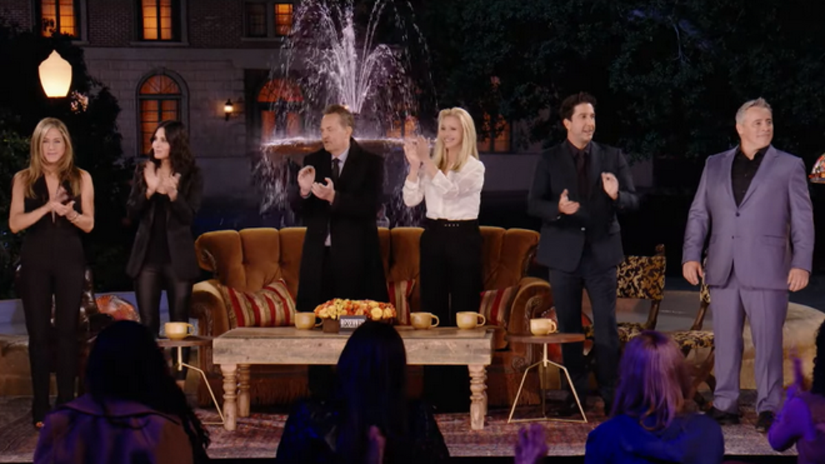 Friends: The Reunion gets a trailer with 100% more James Corden