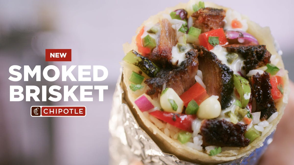 Chipotle's new smoked brisket is here to bulk up your burrito