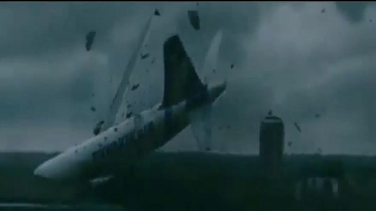 This supercut of movie and television plane crashes will make you want to take the train forever