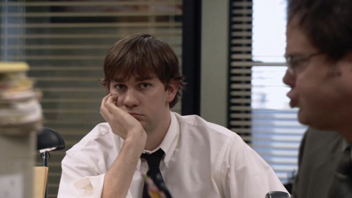 The Office Stare Machine charts the full range of human emotion, directly to camera