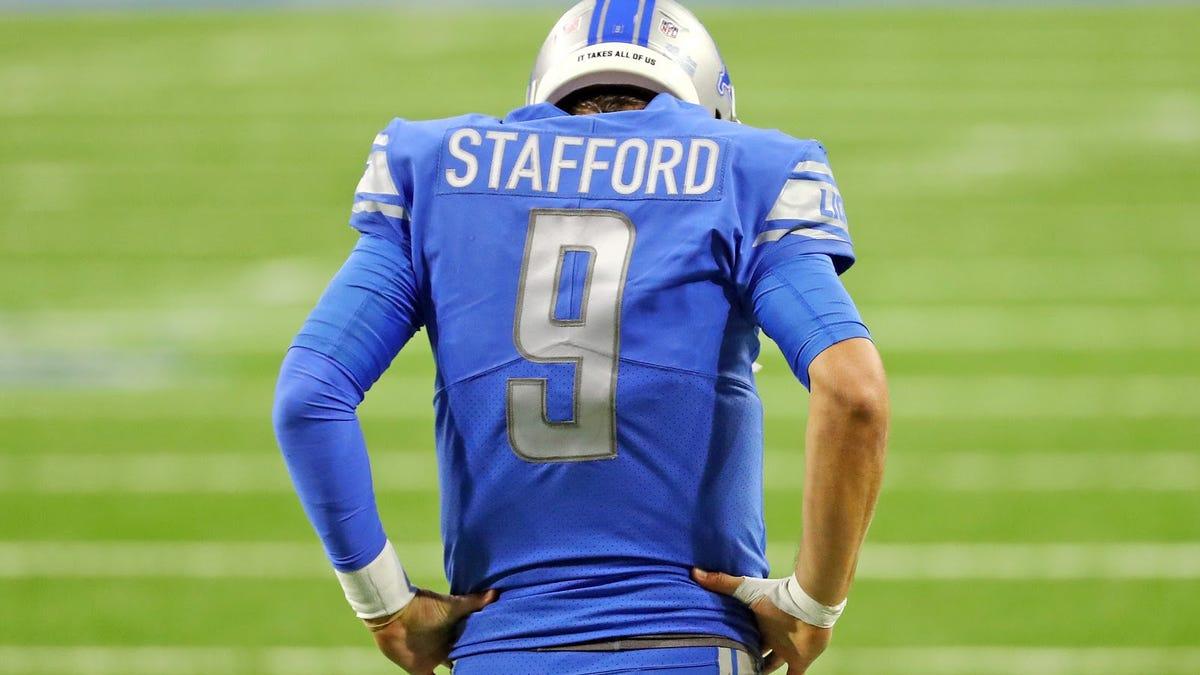 Matt Stafford, more like Stat Padford