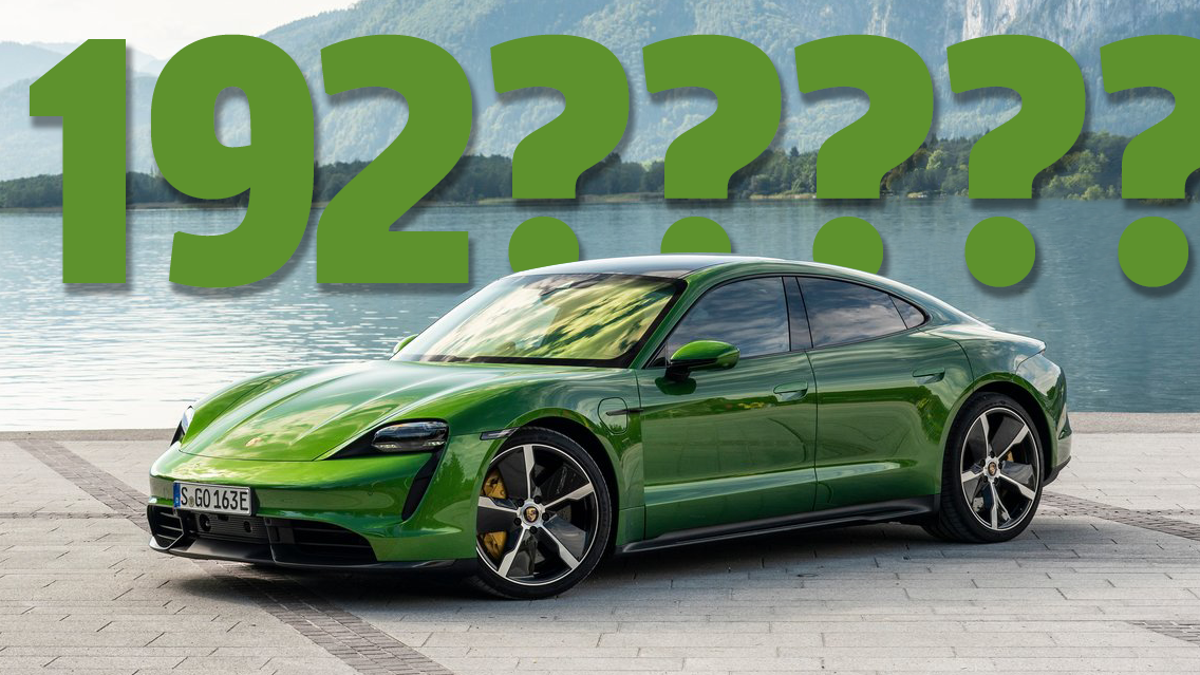The Porsche Taycan Turbo S 192-Mile Range Now Makes It The Least Efficient EV, Beating Itself