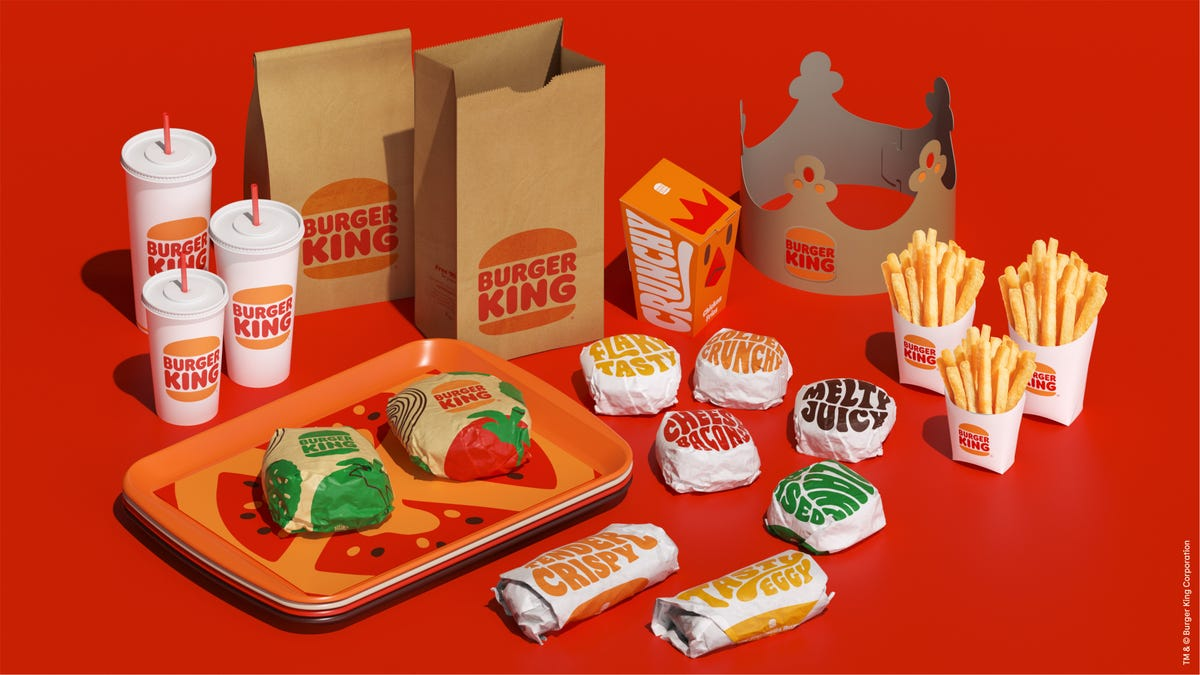 Burger King's rebrand is looking like a snack