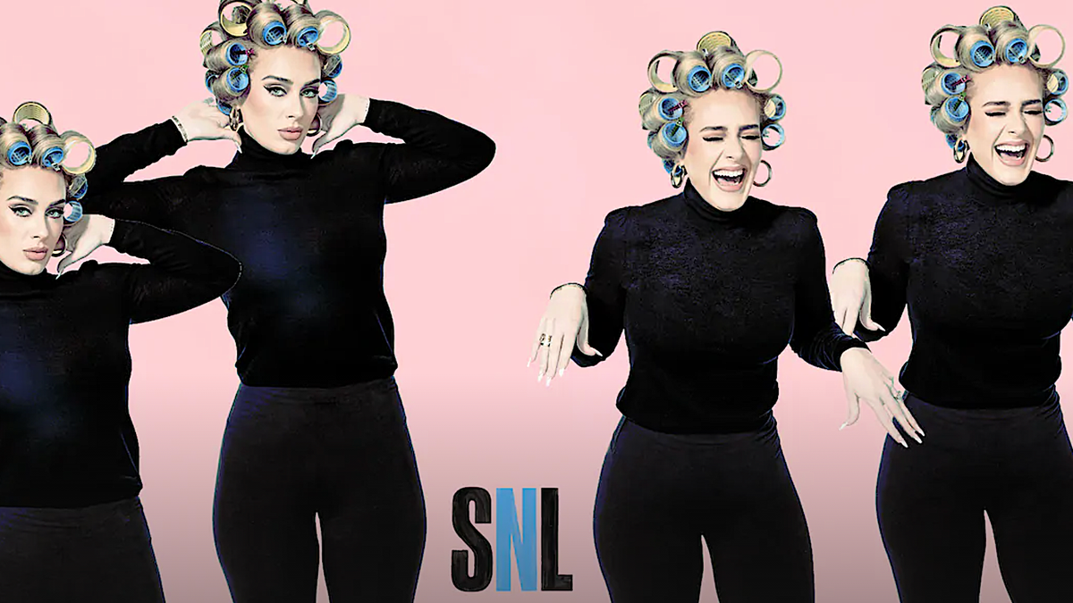 Adele ably lets her hair down on a fitfully amusing Saturday Night Live