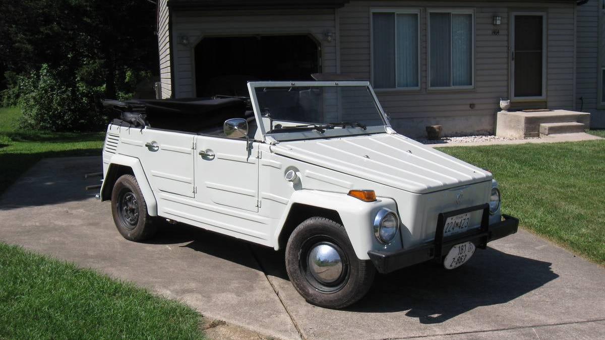 Könnte dieser VW 181 von 1973 für 13.000 $ genau das Richtige sein?