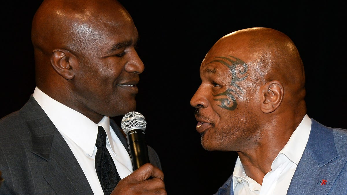 Mike Tyson, Evander Holyfield Choose Violence—and It's Going Down Memorial Day Weekend