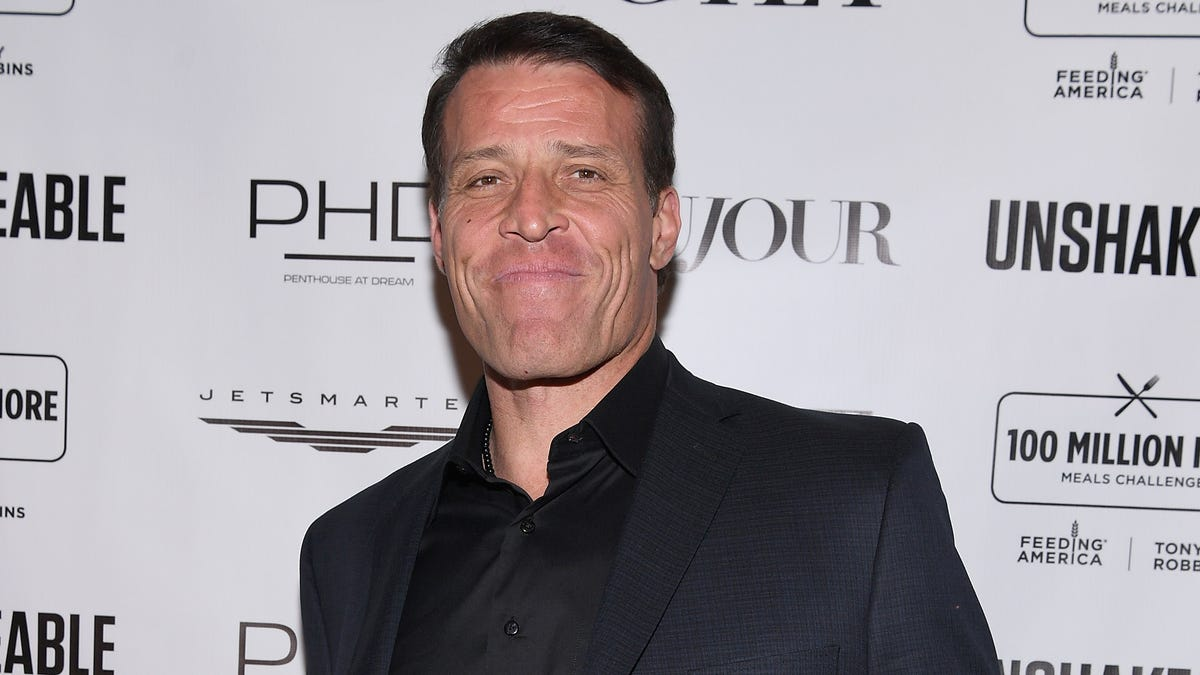 New Tony Robbins book pulled following sexual harassment allegations