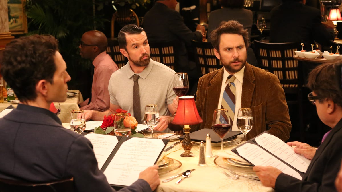 Even a near-death experience can't change the Gang on an excellent It's Always Sunny