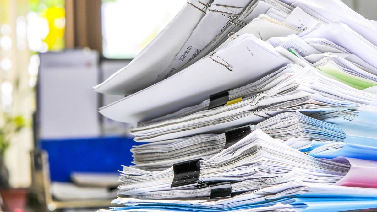 How to Finally Go Paperless at Home, Because It's Past Time
