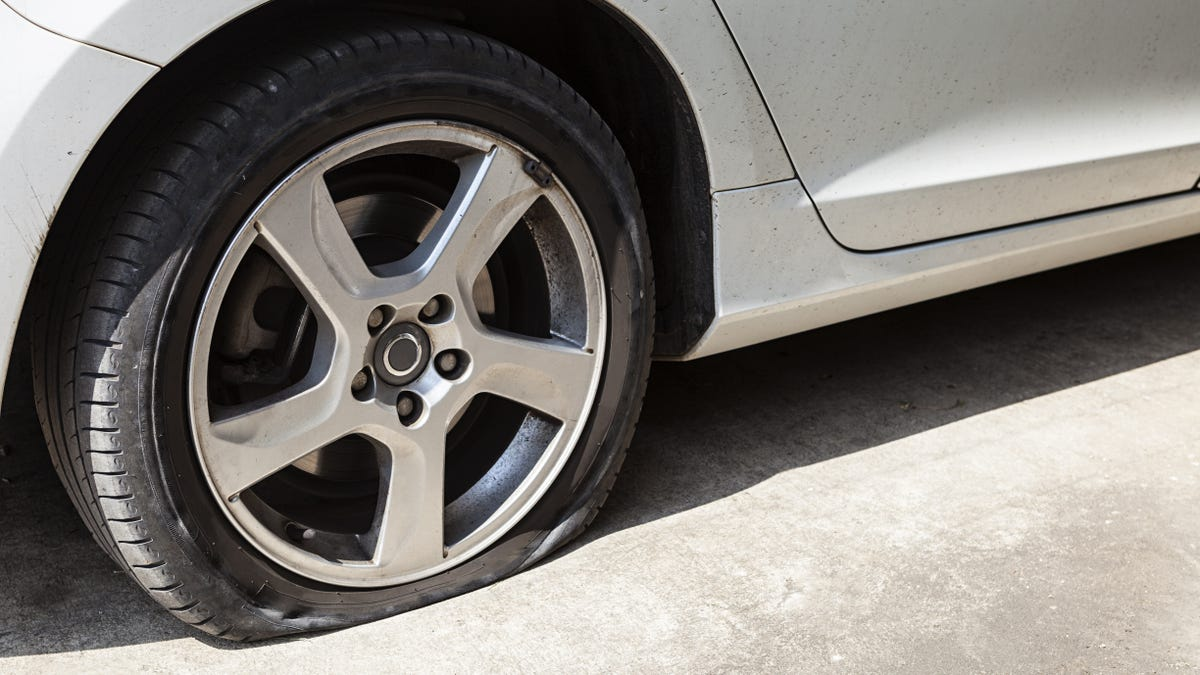 Take Multiple Pictures of Your Next Flat Tire So You Can Re-Use the Excuse in the Future
